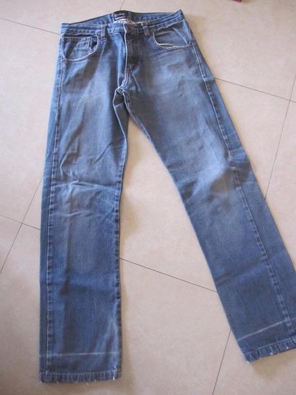 Pantalon Jean Bross Nro 30 (sera Como Un 38) Azul