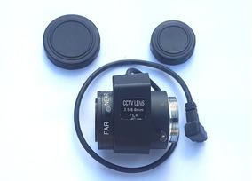 Lente Varifocal Prof Cctv Auto Iris 3.5-8.0mm 2 Unidades