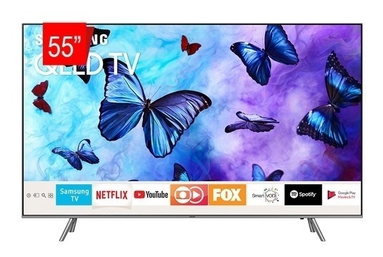 Smart Tv Qled 55 Samsung Ultra Hd 4k Qn55q6fnagxzd