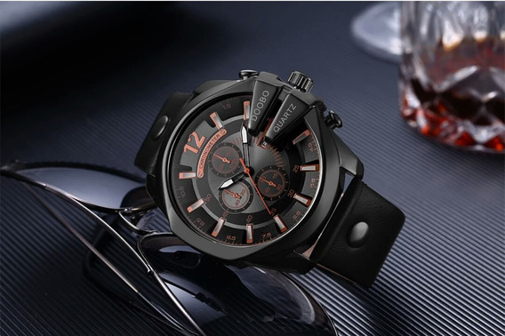 Relógio Masculino Luxo Doobo Importado Pronta Entrega