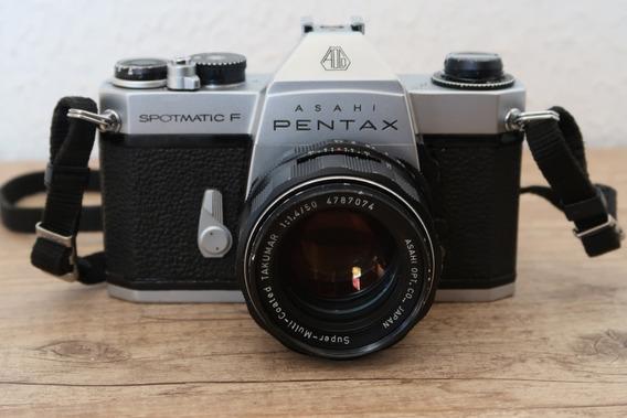Câmera Pentax Spotmatic F Super-multi-coated Takumar 50/1.4