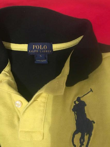 Playera Polo Talla 5
