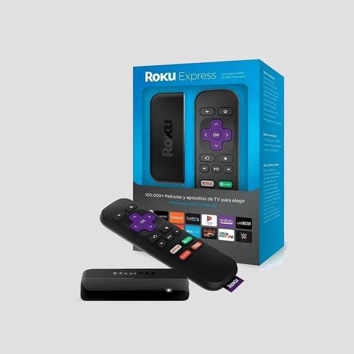 Roku Express Hd Convertidor Smart  Tv Netflix Youtbe 3m Gnti
