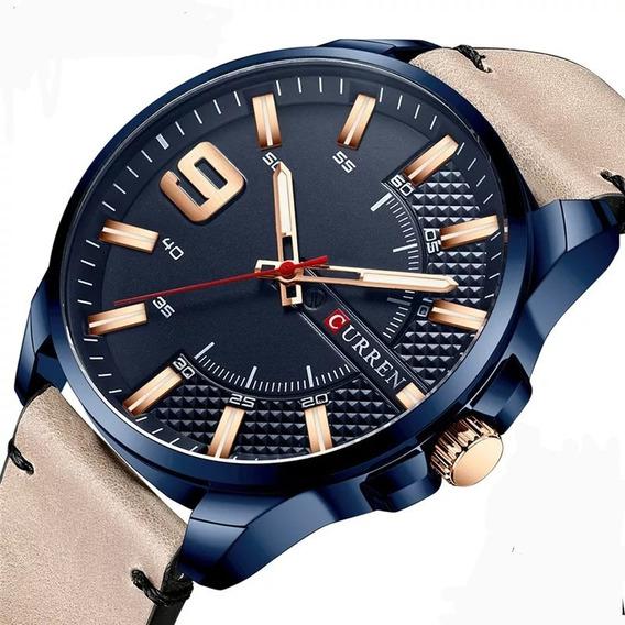 Relógio De Luxo Curren 8371 Masculino A Prova D