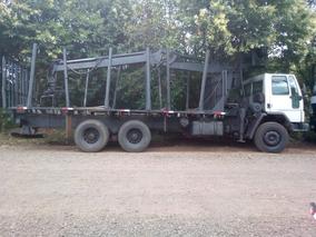 Cargo 5032 Transtora Com Grua Florestal Pego Troca Até 70mil