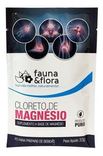 5x Cloreto De Magnésio Em Pó Solúvel - Fauna & Flora