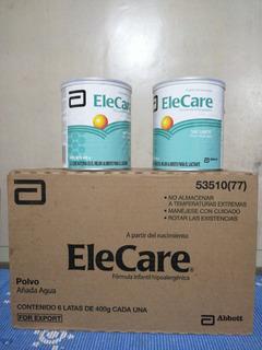 Leche Elecare Hipoalergénica Para Niños Alérgicos E Intolera