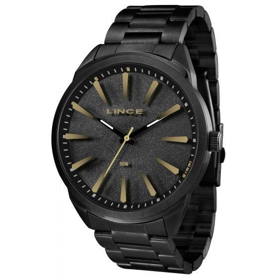 Relógio Lince Mrn4385s Pkpx Masculino Preto - Refinado