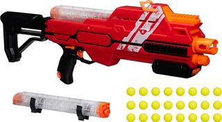 Nerf Rival Hypnos Xix-1200 Lanzador Rojo 24 + Mascara Roja