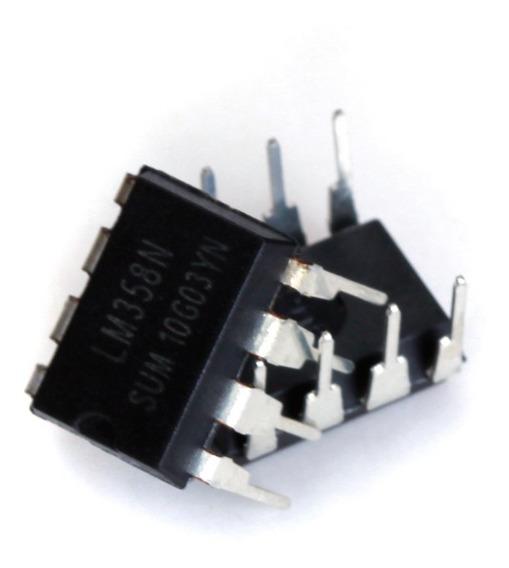 10x Lm358/lm358n Ic De Baixa Potência Dual Operacional Ampli