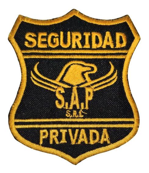 Escudos Parches Seguridad Control