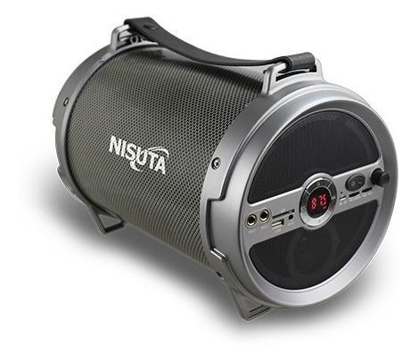 Parlante Portatil Bluetooth Luzfm Sd Mic Usb Nisuta Ns-pa12