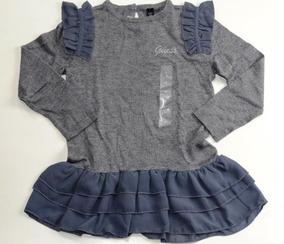 Vestido Infantil Importado Guess Estilo Boneca 2/3 Anos