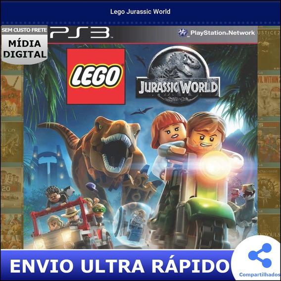 Lego Jurassic World Midia Digital Envio Na Hora