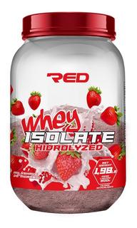 Isolate Whey Isolado Hidrolisado 900g Red Series Morango