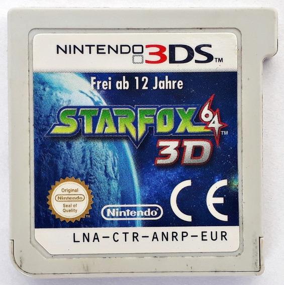 Jogo Starfox 64 3d Nintendo 3ds Loose Original Frete Grátis