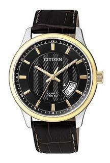 Reloj Hombre Citizen Bi105412e. Cuero. Nuevo. Envío Gratis.