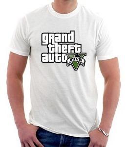 Camiseta Gta 5 - Grand Theft Auto 5 - Games