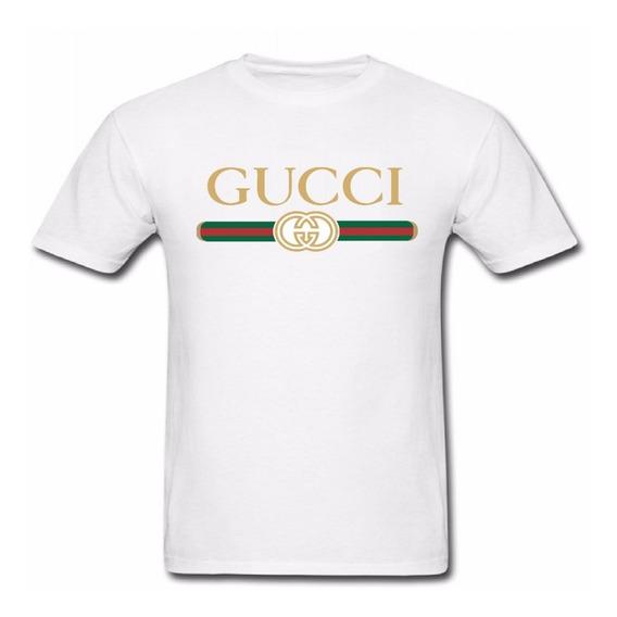 Kit 3 Camisas Camisetas Tshirt Basica Unissex Gucci + Frete