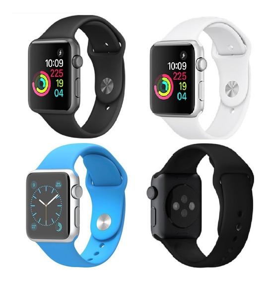 Pulseira Sport Para Apple Watch Serie 1 2 3 Borracha 42/38mm
