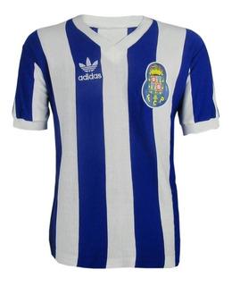 Camisa Retrô Futebol Clube Do Porto De Portugal 1988 - 1989