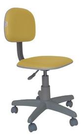 Cadeira Secretaria Giratória Polo Cz Diversas Cores