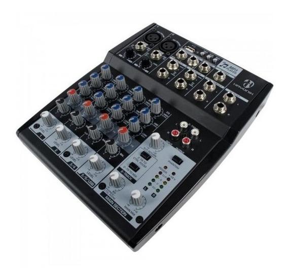 Mesa De Som Hayonik Hmx-108 Mixer Usb 8 Canais Bivolt