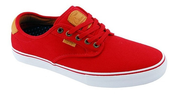 Tênis Vans Chima Ferguson Pro Red/ White/ Tan 6767 Original