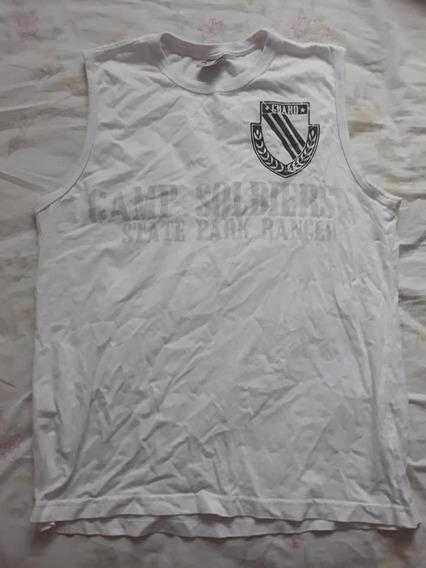 Camiseta Regata Machão Masculina Camp Soldiers