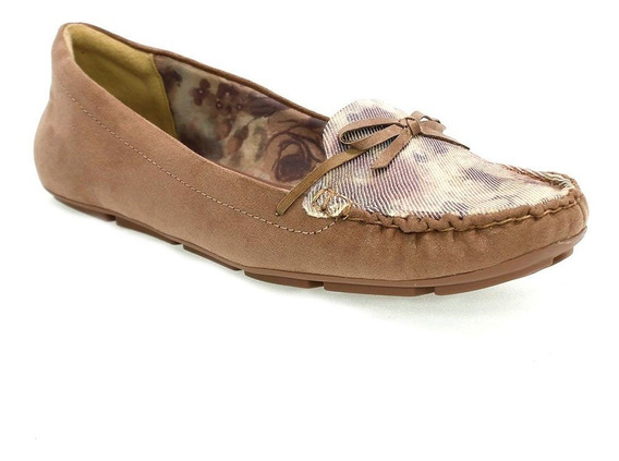 Sapato Feminino Lumin Plus Mocassim Marrom Ramarim