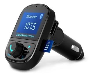 Transmisor Fm Auto Bluetooth Energy Microsd Manos Lib Backup