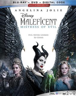 Blu Ray Maleficent 2 Mistress Original Disney Jolie Malefica