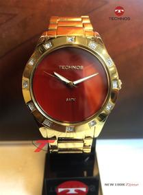 Relógio Technos 2033ab/4r Coleção Precious Stone - Promoção