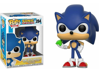 Funko Pop Sonic With Emerald