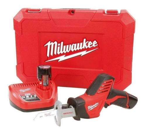Sierra Sable Milwaukee 12v 2420-259a Cargador Y 2 Baterías