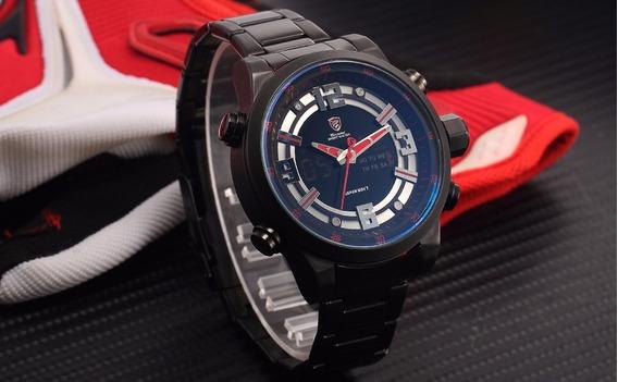 Relógio Shark Sh340 + Brinde Relógio Digital Grátis