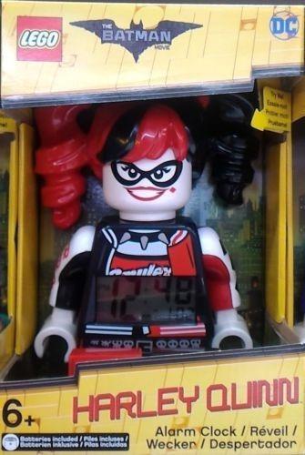 Lego Harley Quinn De Batman Movie Reloj Despertador
