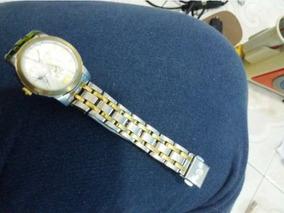 Relógio Champion Números Romanos Dourado E Prateado