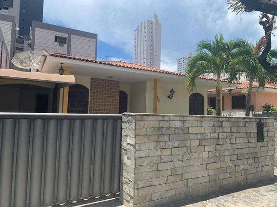 Casa Em Manaíra, João Pessoa/pb De 0m² 4 Quartos À Venda Por R$ 1.400.000,00 - Ca211943