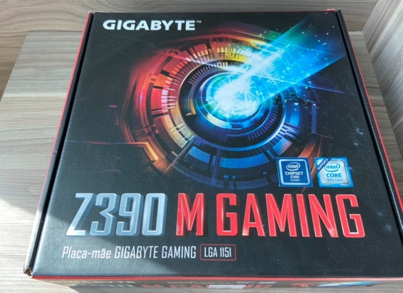 Placa-mãe Gigabyte Z390 M Gaming