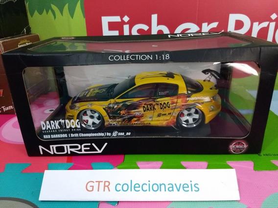 Mazda Rx8 Racing Dark Dog Norev 1/18