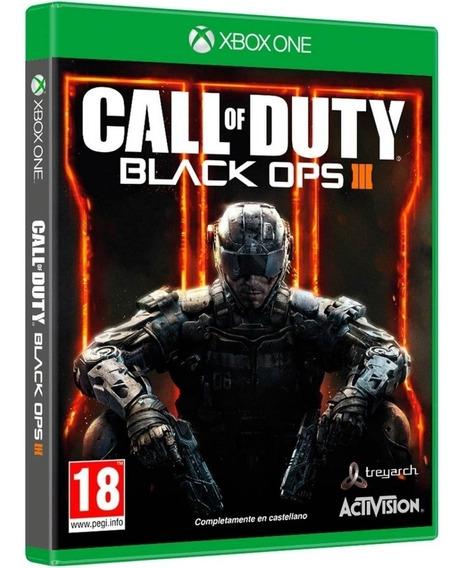 Jogo Call Of Duty Black Ops 3 Xbox One Midia Fisica Original