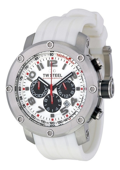Tw Steel Grandeur Tech Tw122 48mm Acero (normal $10,400)