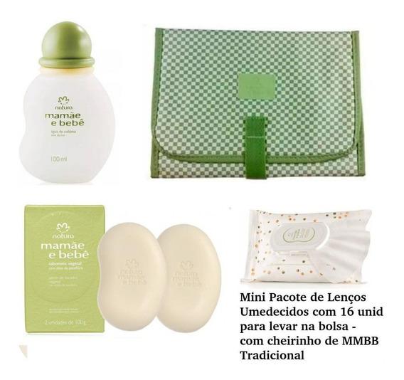 Promoção Kit Natura Colonia Mamae E Bebe + 3 Produtos