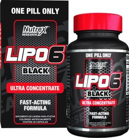 Lipo 6 Black - 60 Cápsulas - Nutrex