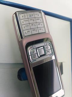 Nokia E65 Rosa Con Plateado. Libre .$1799 Con Envío.
