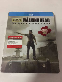 The Walking Dead Temporada 3 Steelbook