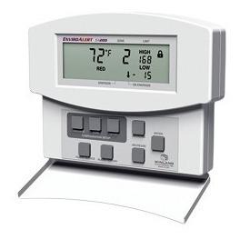 Detector De Temperatura Y Humedad, Capacidad 4 Zonas Libres.