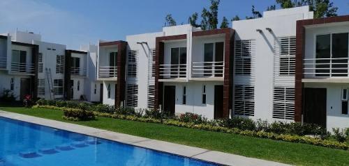 Casa Condominio En Venta - Lomas De Jiutepec