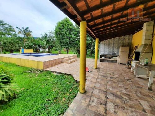 Chácara Com 3 Dormitórios À Venda, 3200 M² Por R$ 400.000,00 - Parque Serra Mar - Peruíbe/sp - Ch0151